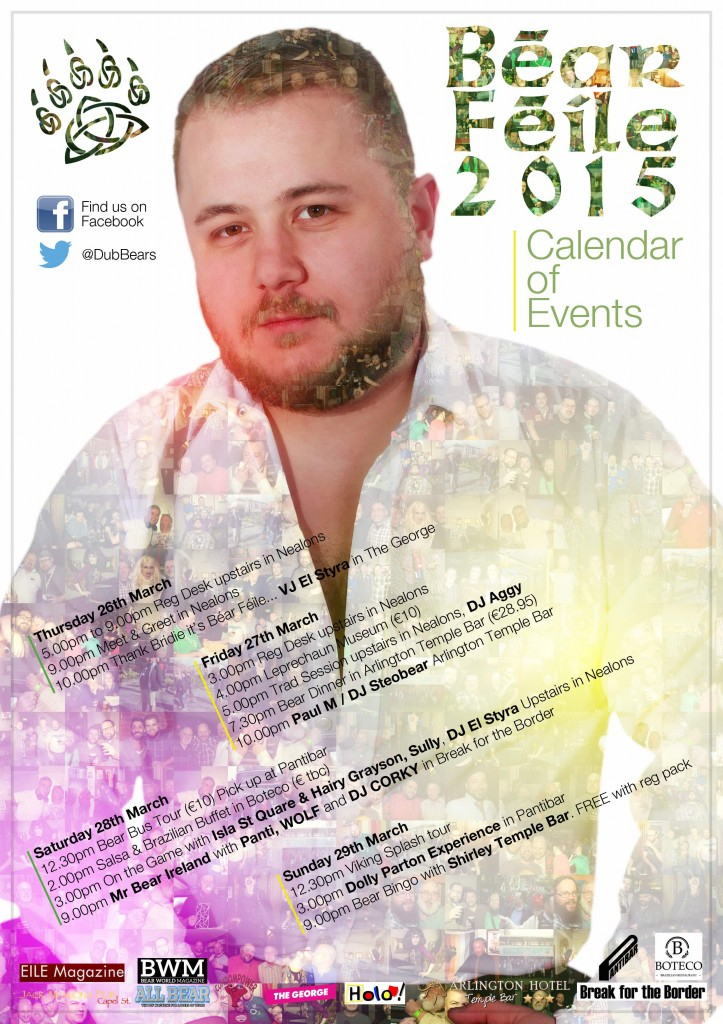 Events Listing Corky web